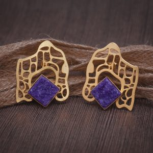 Pleasure Of Purple Earrings
