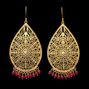 Grandiose Pink Earrings