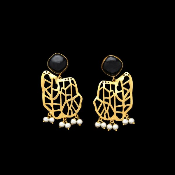 Black Beauty Earrings