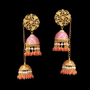 light weight jhumka earrings