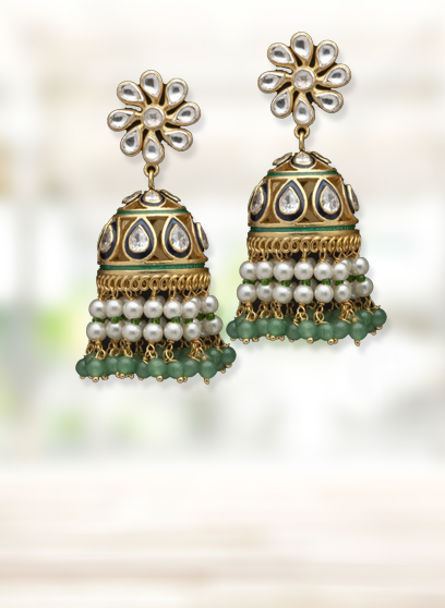 Buy pure silver earrings online