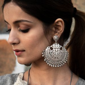 Her Sterling Silver Earrings
