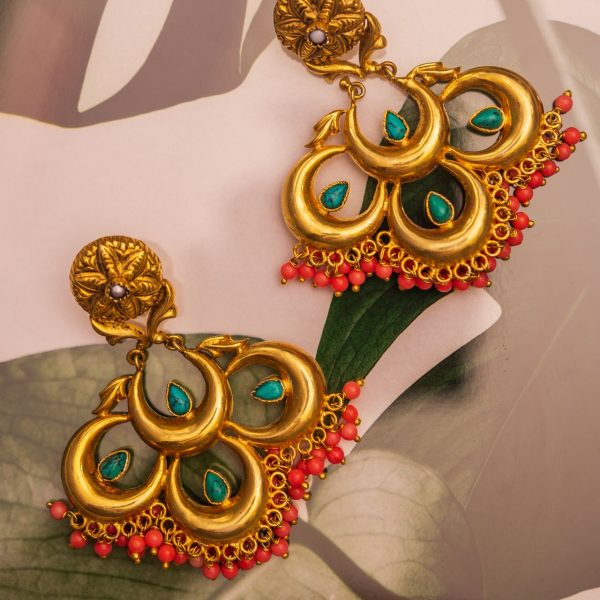Flower Power Multicolour Earrings