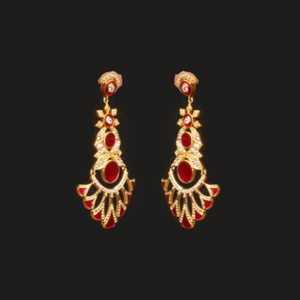 gold plated earrings online